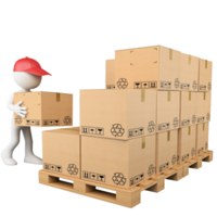 2d barcodes parcel dispatch